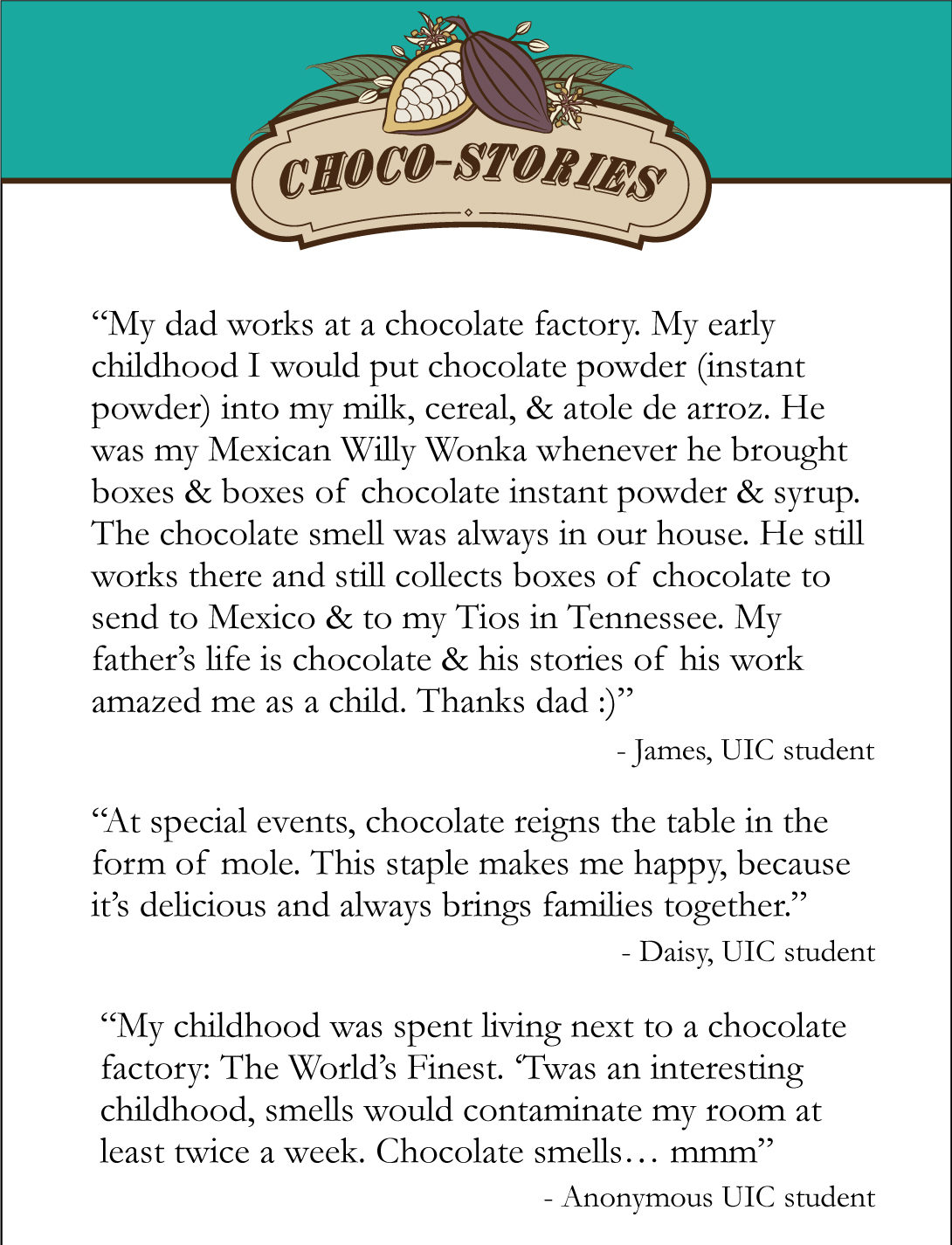 Choco-Stories in Chicago