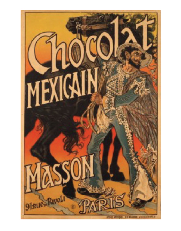 Masson Chocolate Advertisement