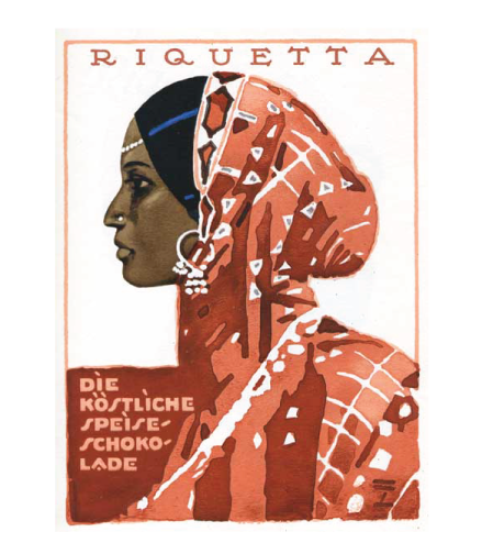 Riquetta Chocolate Advertisement