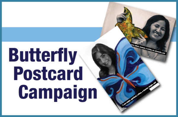 Butterfly Postcard Campaign