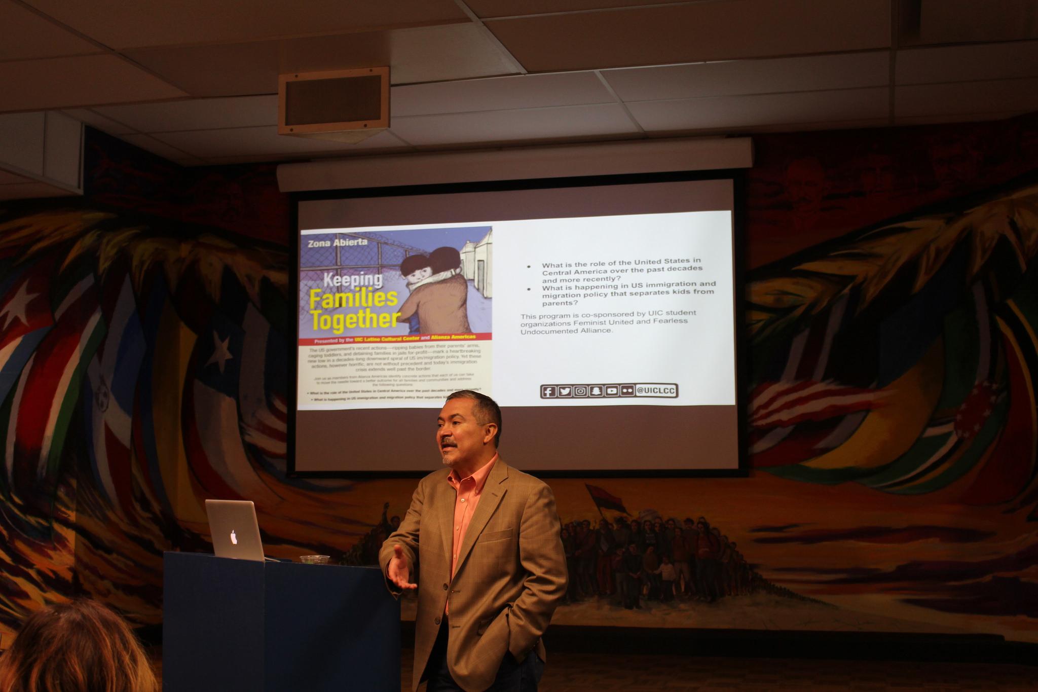Oscar Chacón - Executive Director of Alianza Americas