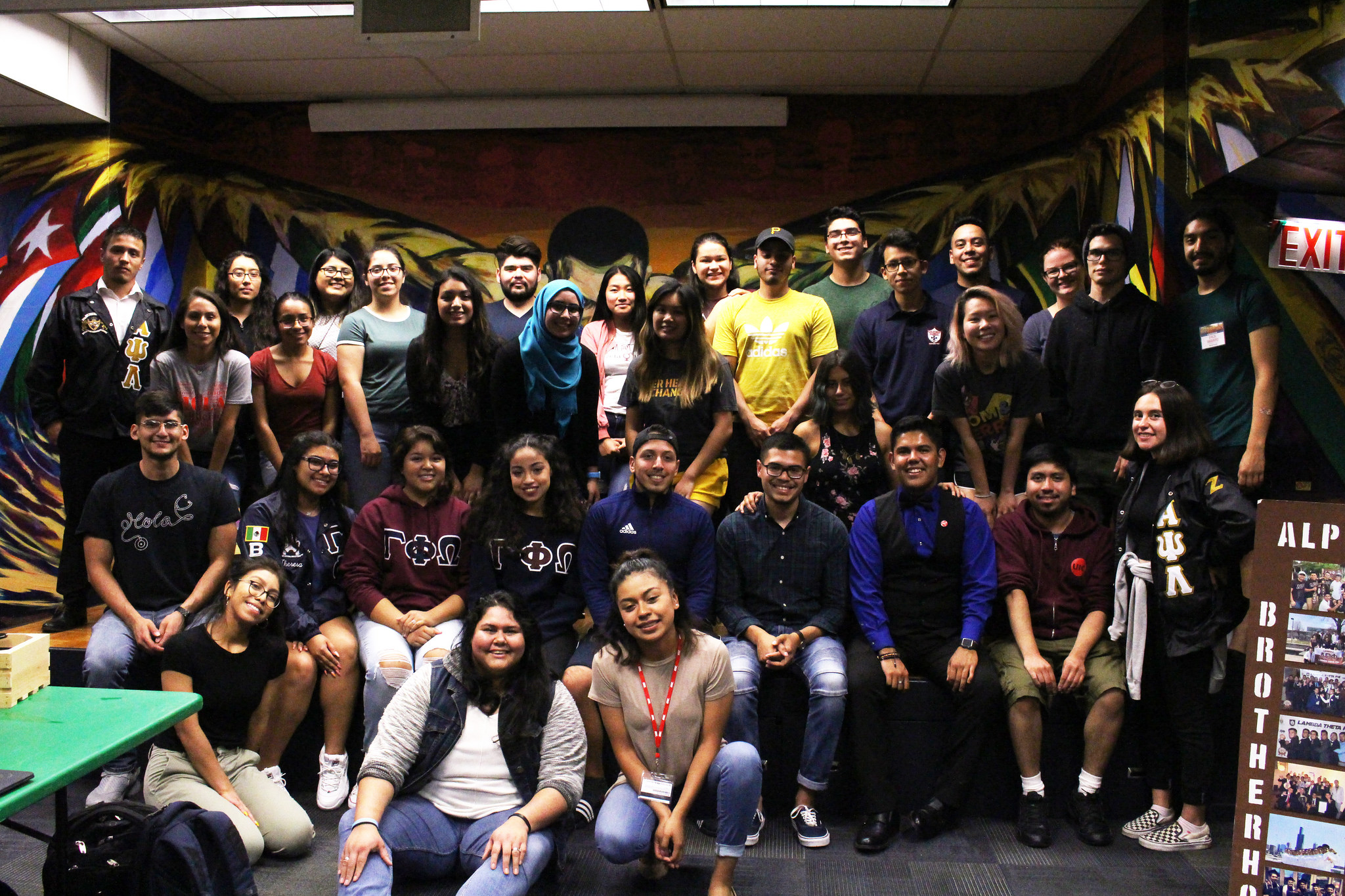 group picture of student org members
