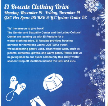 clothing drive poster text